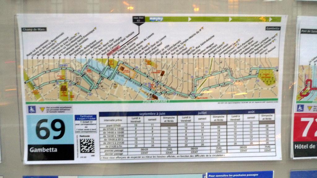 Ligne De Bus 69 Paris Fr75 Jean Louis Zimmermann Flickr