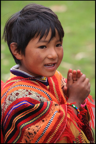 Peruvian boy in traditional clothing | Photo Set: Peru ...