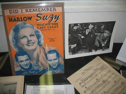 Jean Harlow part of the exhibit at the Laurel & Hardy Museum | by vintagedame1