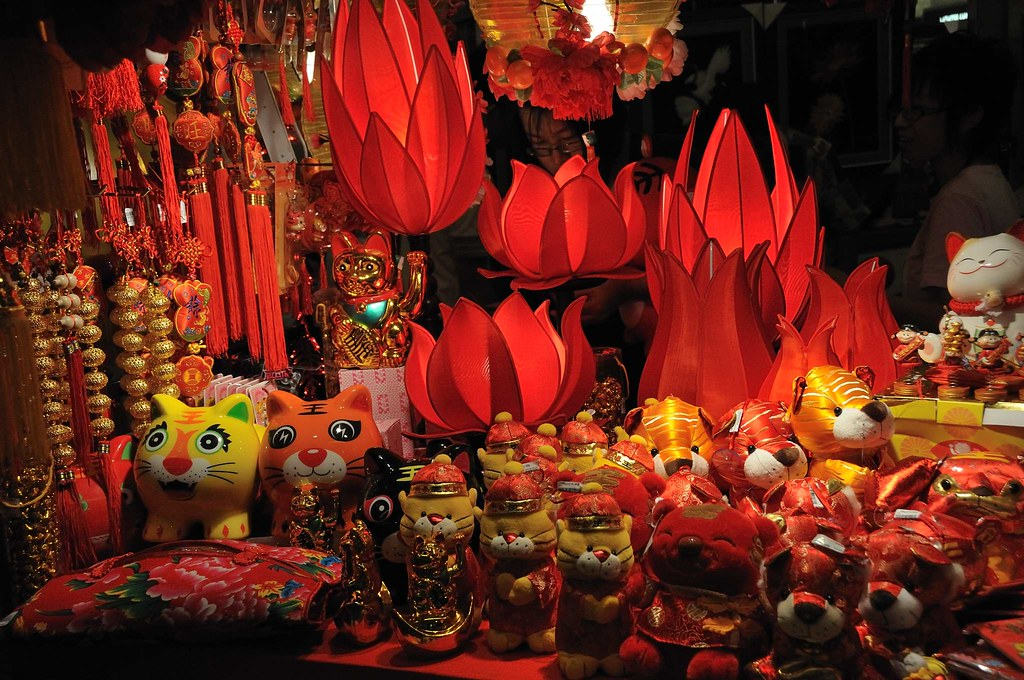 year of the tiger chinese new year decorations by caesda