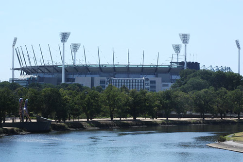 MCG from Princess Bridge
