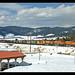 BNSF eastbound at Fraser, Colorado
