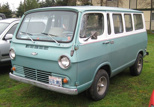 1965 Chevy Van Sometimes The Most Interesting Vehicles