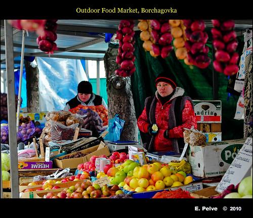 Outdoor food market borchagovka ukraine click here to for Outdoor food market