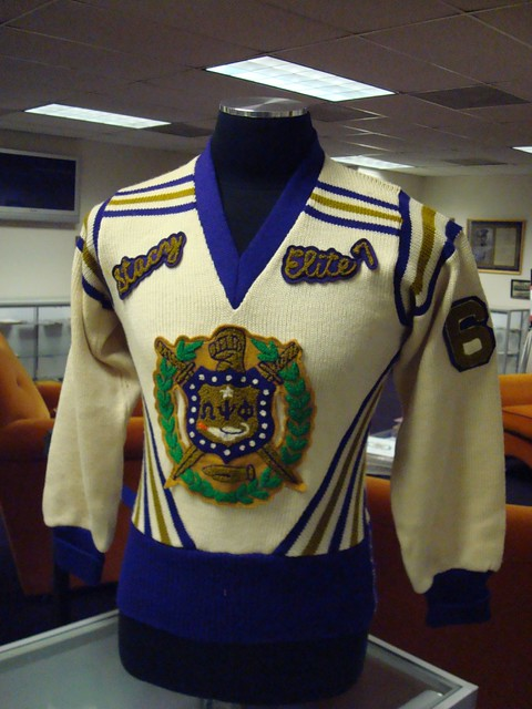 Omega Psi Phi Museum Vintage 1960s Sweater Carl Blunt Flickr
