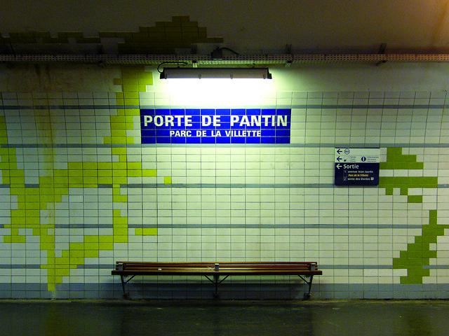 M tro parisien ligne 5 porte de pantin parc de la villette flickr photo sharing - Metro porte de la villette ...