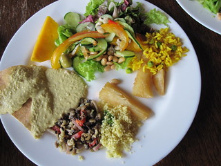 Vegan Picks @ Fronteira Buffet | by veganbackpacker
