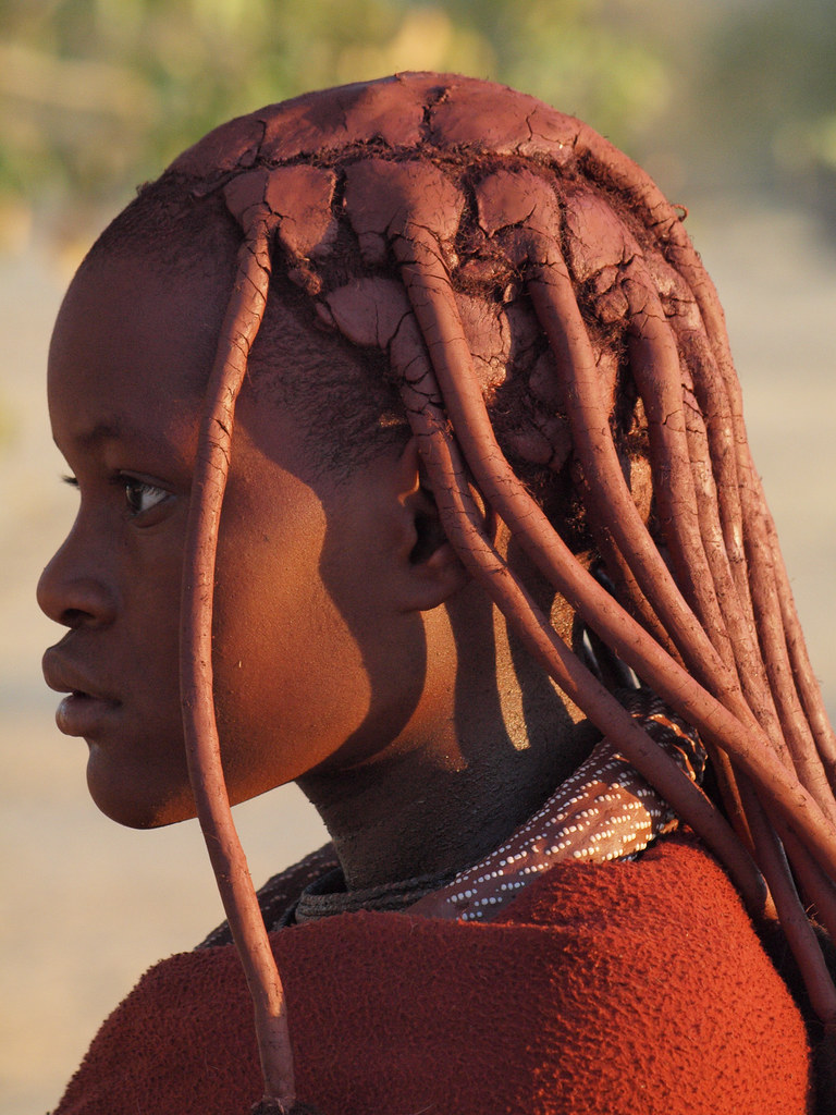 Himba Hairstyle Gusjer Flickr