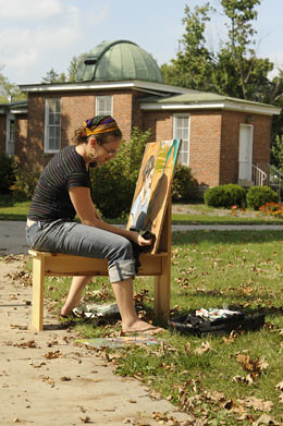 Painting in the Sun | by Earlham College