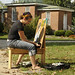 Painting in the Sun