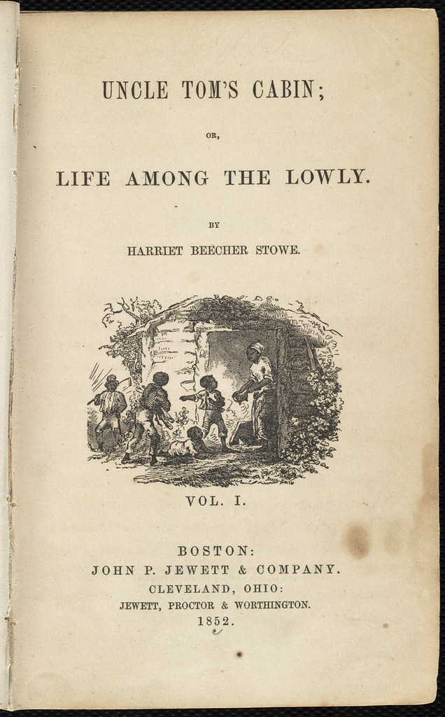 Uncle Tom's Cabin; or, Life Among the Lowly [Title page
