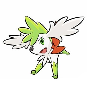 Shaymin sky form | The Sky Form of Shaynim only available in… | Flickr