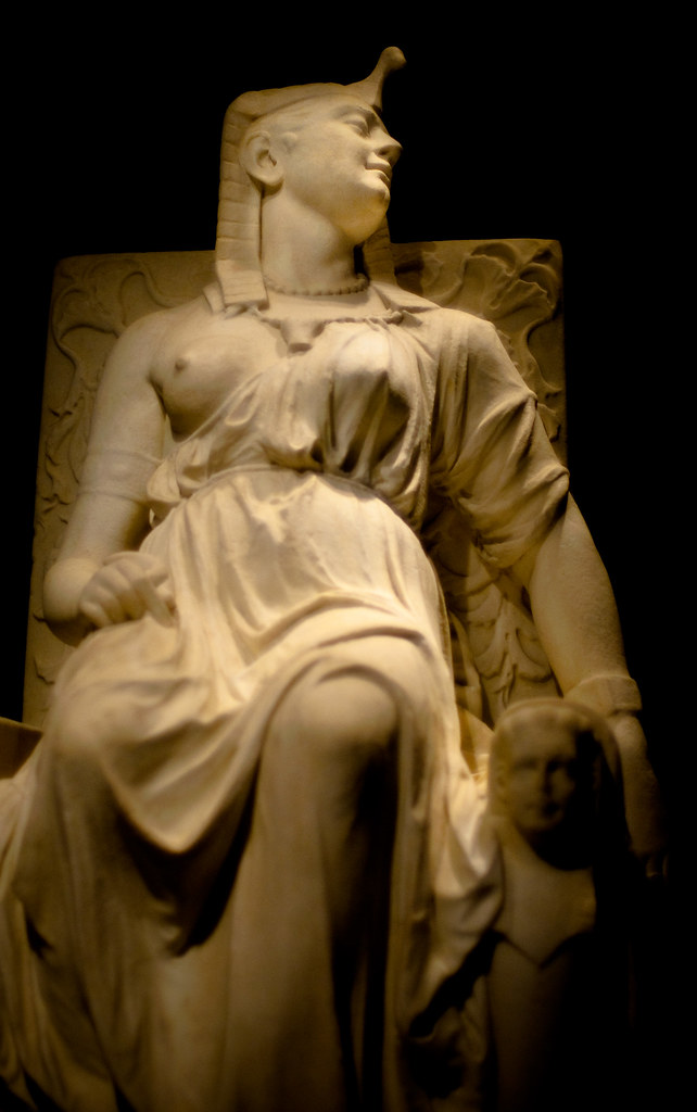 the death of cleopatra edmonia lewis 1876 gift of the