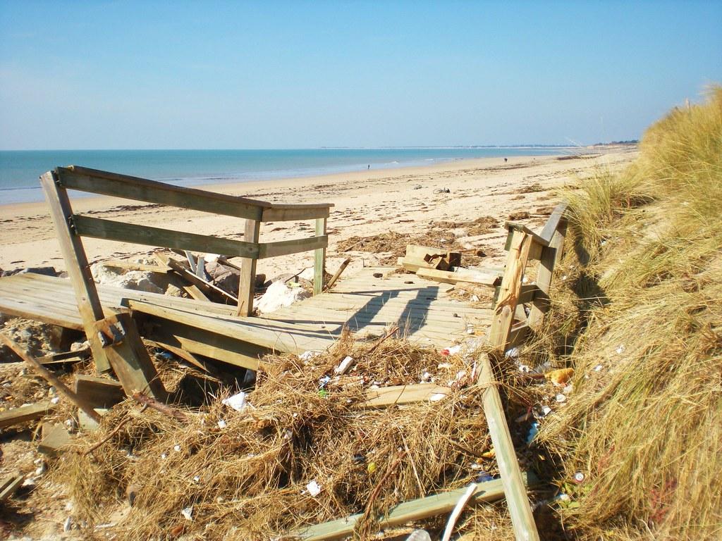 ile de ré, le bois plage en ré, apres tempete du 28 fevrie u2026 Flickr # Ile De Ré Bois Plage