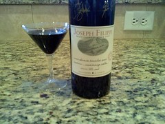 marking 3 yrs w/port. (ty Wes & Liz; it's delicious) #fb | by cindiann