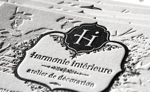 harmonie int rieure letterpress cards i figure out i