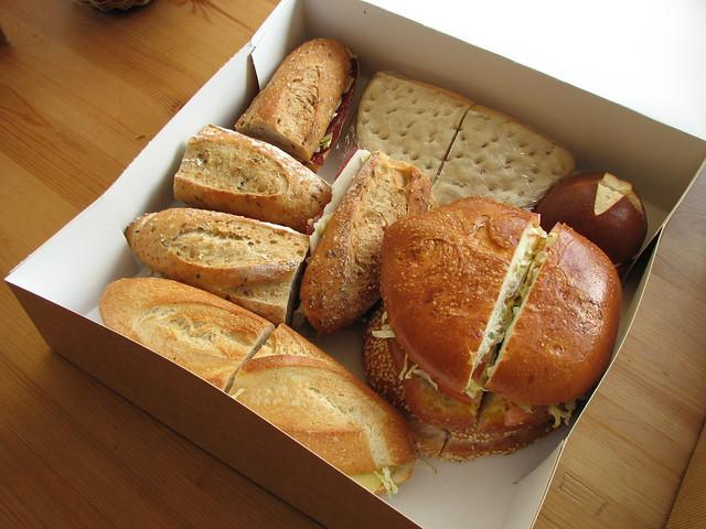 sandwiches ou sandwichs