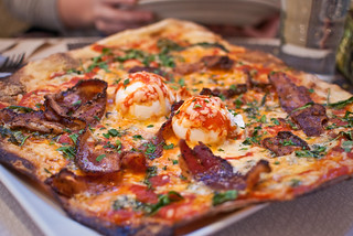 Bacon&Egg Pizza | by aubreyrose