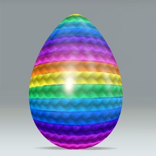 rainbow egg create   easter egg  wwwdumprnet