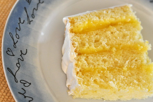 Lemon Layer Cake | by kimberlykv