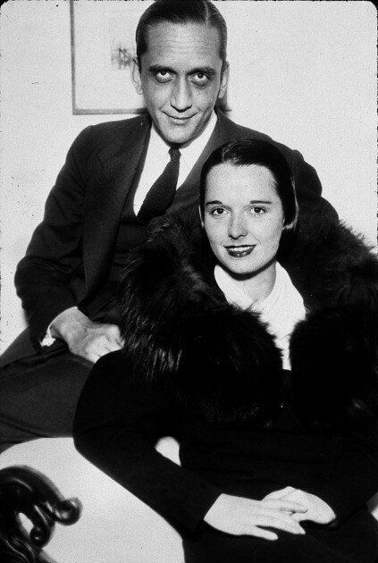 Louise Brooks & her husband, Deering Davis, 1933 ...