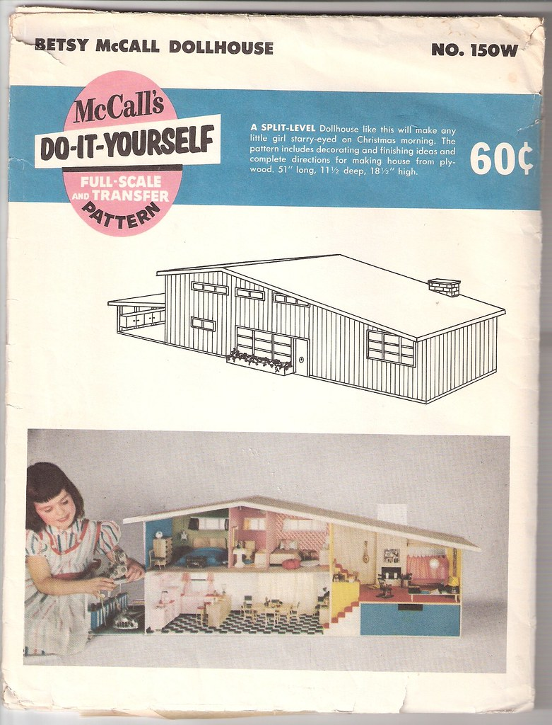 Mccall Dollhouse Plans Barton Flickr