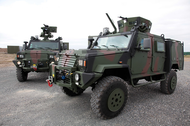 New Light Tactical Armoured Vehicle Irish Defence Forces