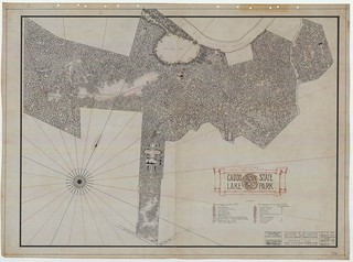 Caddo Lake State Park - Project Map - SP.40.11 | by Texas State Archives