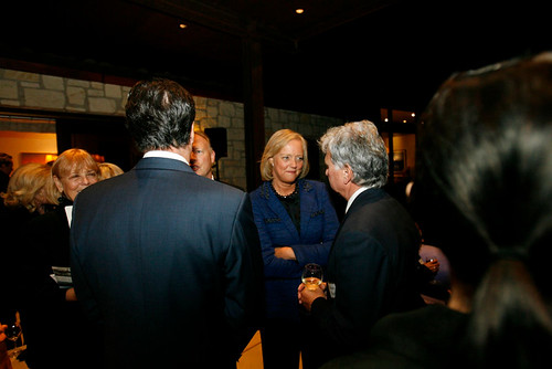 Meg Whitman and Gov. Mitt Romney speak to a group of supporters in Rancho Santa Fe | by megwhitman2010
