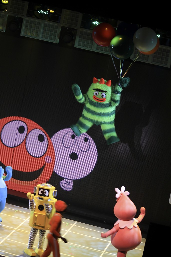 Yo Gabba Gabba Party Ideas Decoration