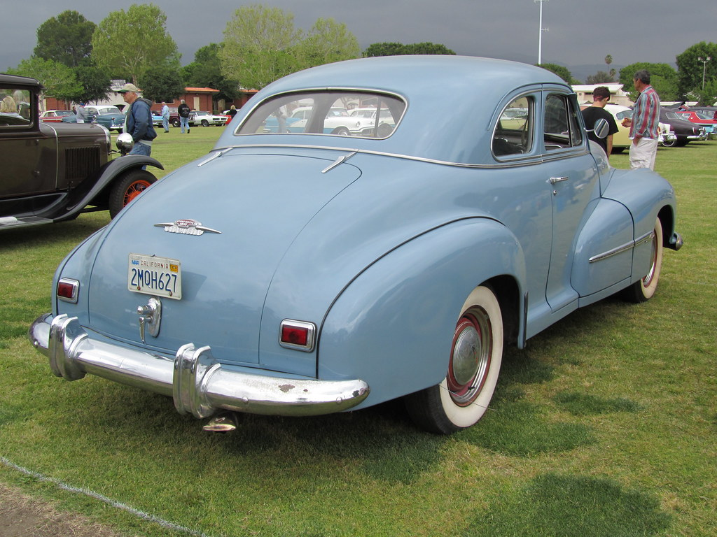 oldsmobile coupe 1946 chatsworth california flickr