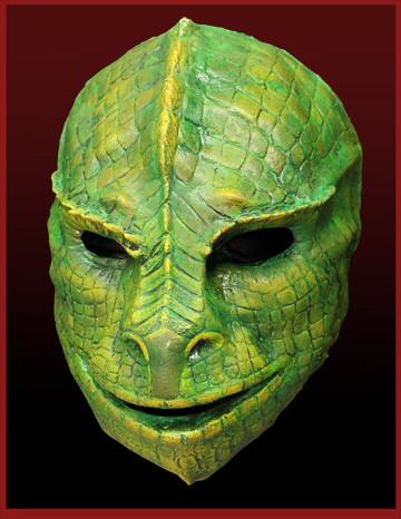 blackwall latex reptile mask | Dr. Thadius Blackwall | Flickr