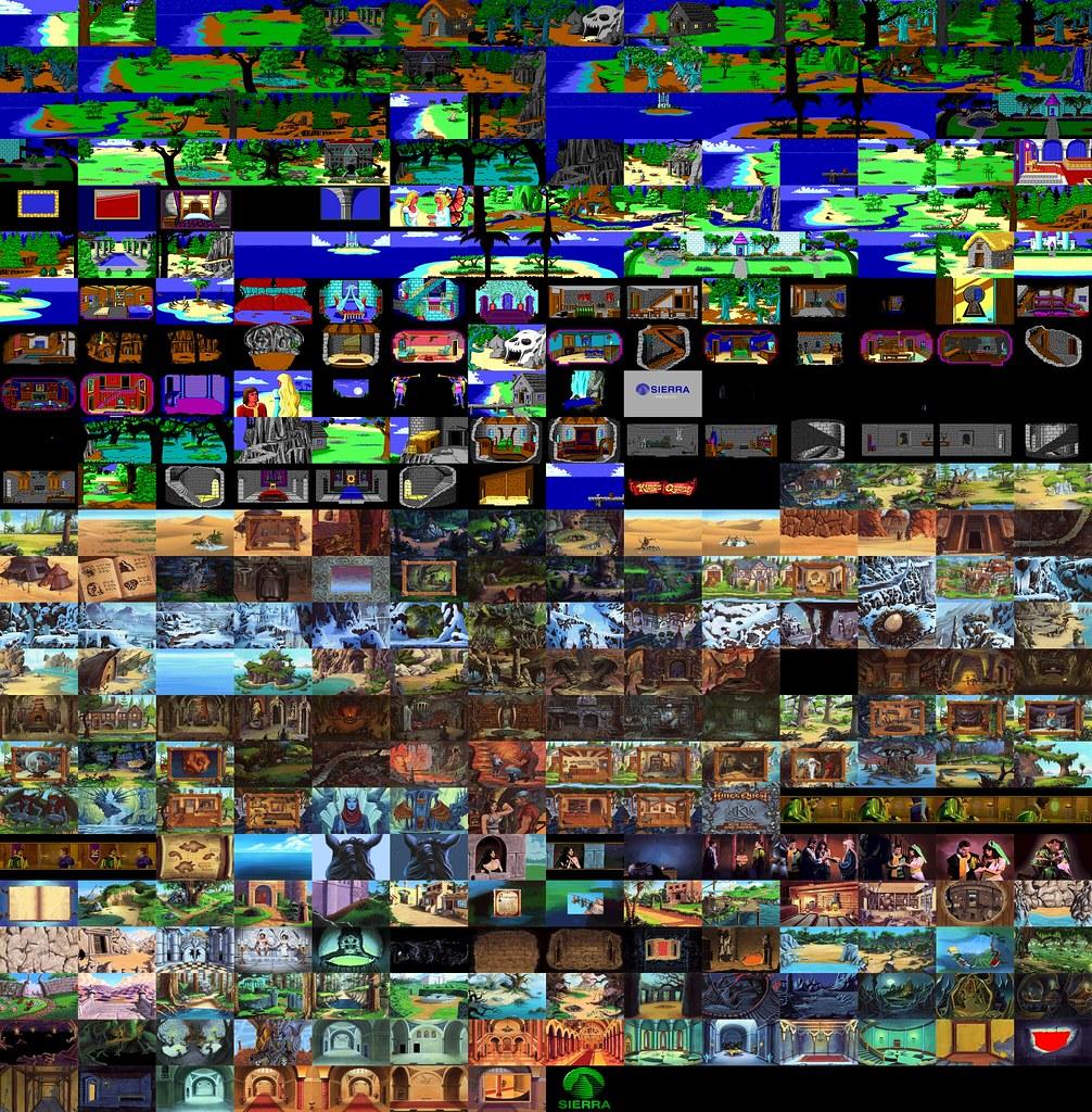King U0026 39 S Quest 4 5 6 Screens