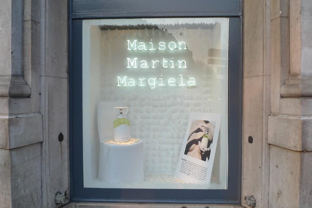 Vitrines maison martin margiela parfum untitled printem for Maison martin margiela paris