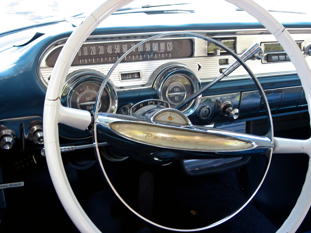 1957 Pontiac Star Chief Coupe Dash Ate Up With Motor