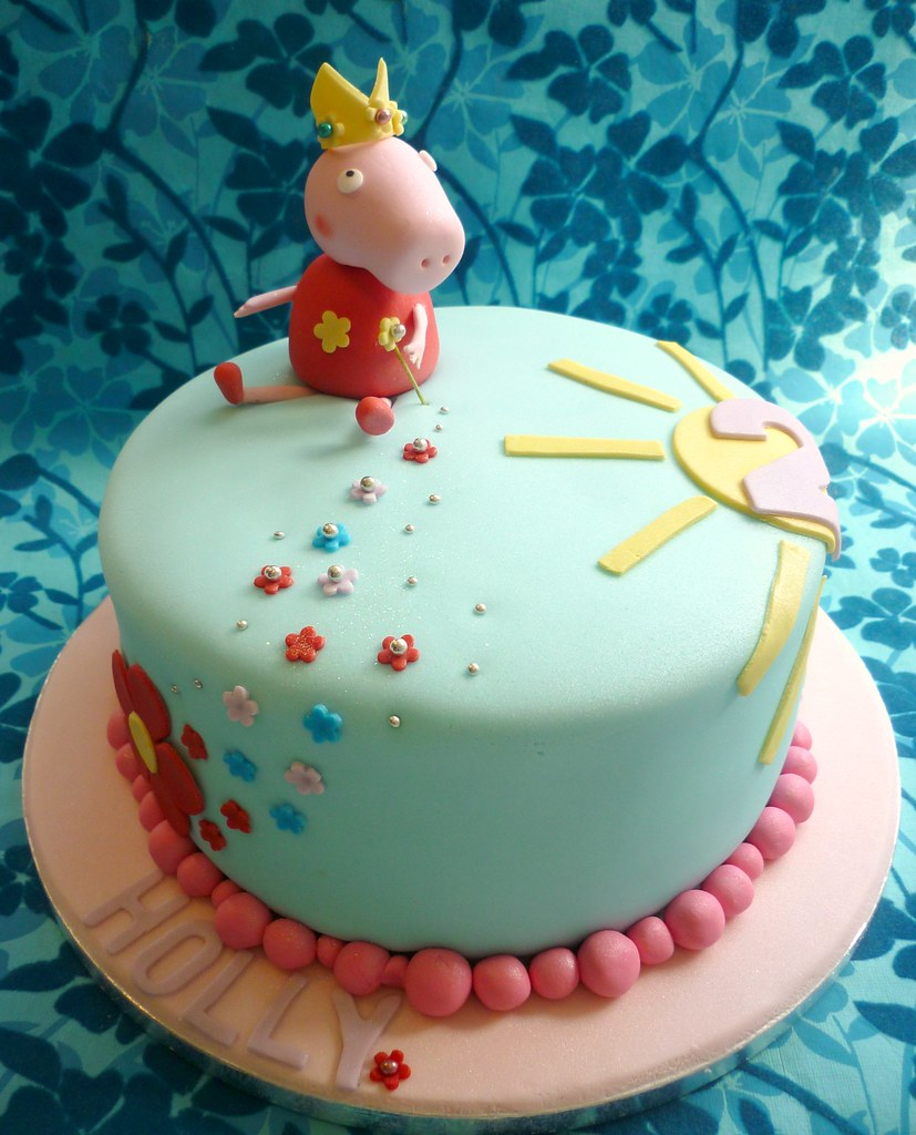 Peppa Pig Birthday Cake Ive Been Wanting To Create A Pepp Flickr