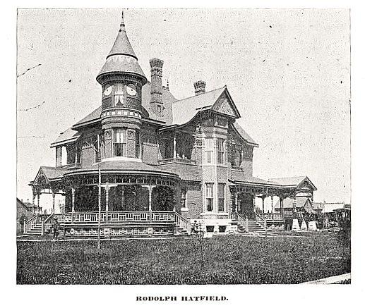 Rondolph Hatfield Residence Wichita Ks Photo C 1888 Of Flickr