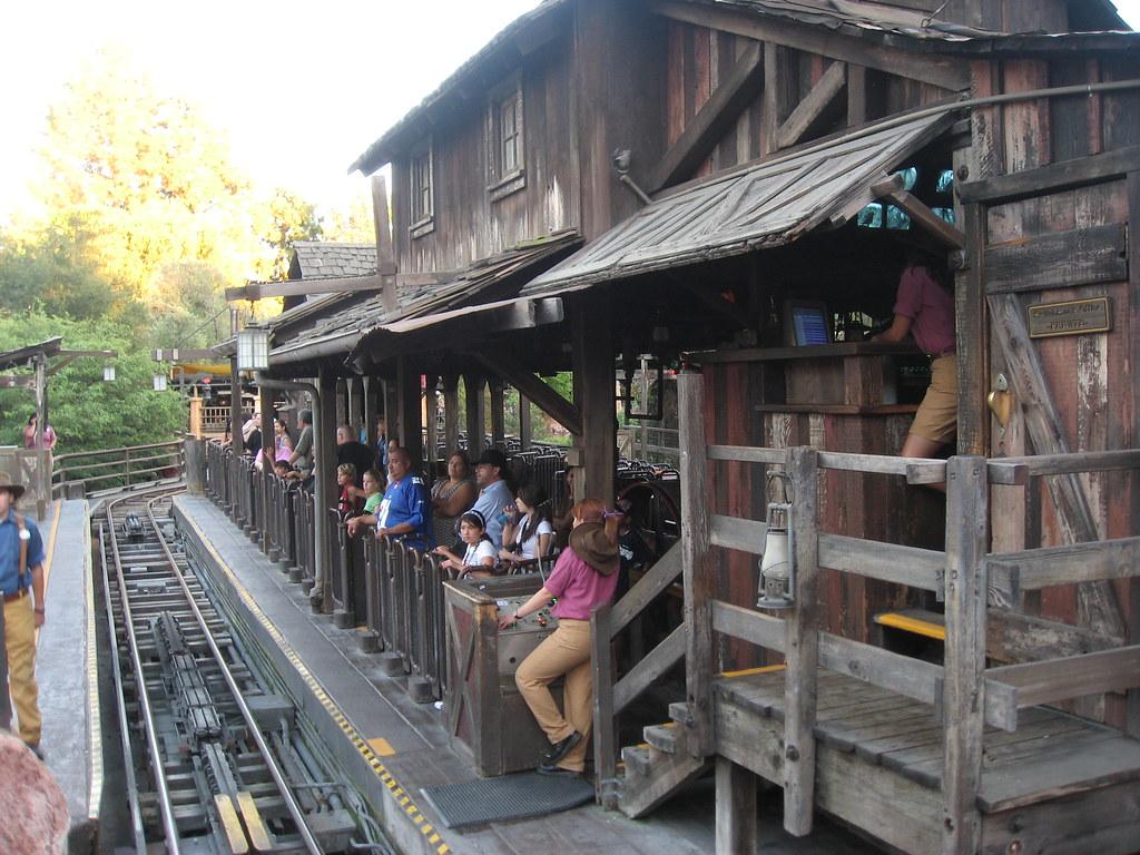 Big Thunder Mountain Railroad Station - Disneyland   Flickr