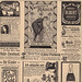 German sheet of ads