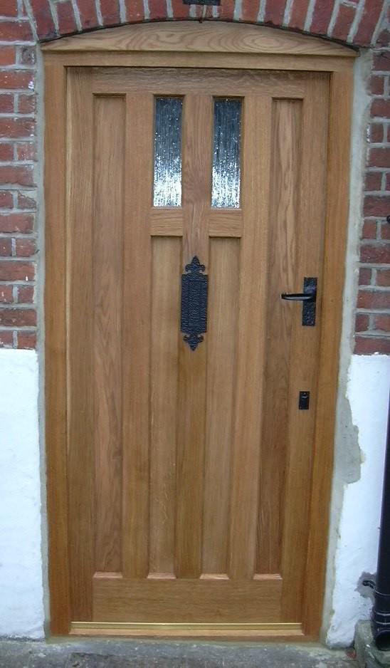 Oak front door flickr photo sharing for Front door company