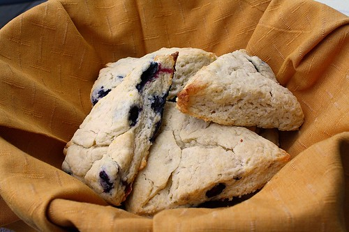 Lemon Blueberry Scones | by Tracey's Culinary Adventures