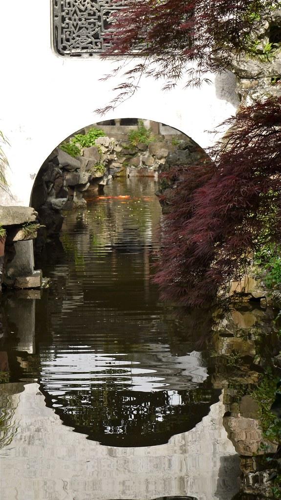 P1040447 Chine, Shanghai, jardin Yu Yuan, un petit canal | Flickr