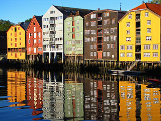 Colourful Trondheim | by RainerSchuetz