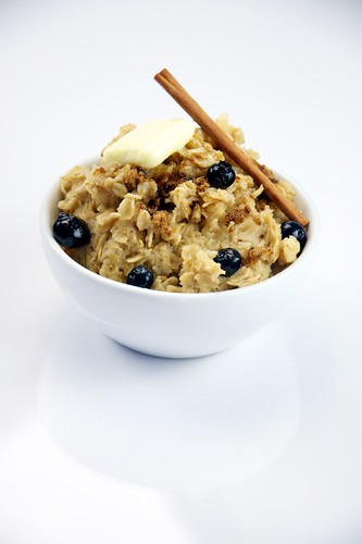 Oatmeal with Blueberries | by TheCulinaryGeek