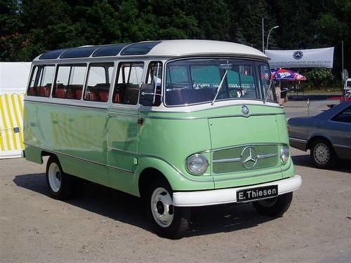 New Mercedes Benz >> Mercedes-Benz O 319 D Mini-Bus 1965 | carandclassic co. uk ...
