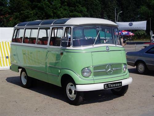Mercedes benz o 319 d mini bus 1965 flickr photo sharing for Mercedes benz 319 bus for sale