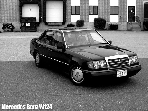 1993 Mercedes Benz 300e Looks Even Better In B Amp W Flickr