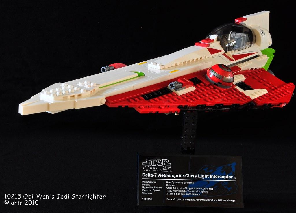 Star Wars Lego 10215 Obi-Wan's Jedi Starfighter | Star ...
