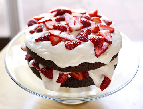 Chocolate Strawberry Cake | by wishmewell95