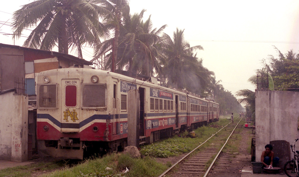 philippine national railways pnr diesel rail car set lea